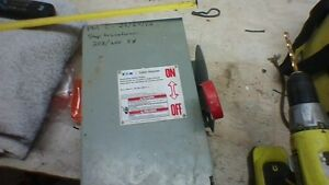 EATON 3 PHASE STEP TRANSFORMER DISCONNECT SWITCH