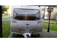 Stunning Bailey Ranger Caravan with Vango Airbeam awning