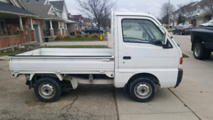 Suzuki 4x4 with diff lock and A.C.