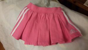 Adidas pleated pink skort- 6 months