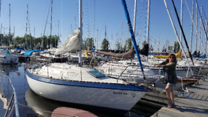 27 Foot Sailboat (CS27),  $6400 or best offer.
