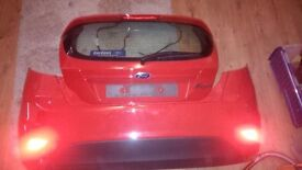 2014 Ford Fiesta bootlid and rear bumper