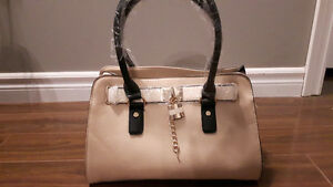 CALL IT SPRING Neutral Black Purse