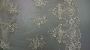 lace fabric for crafting, sewing, decoration