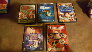 selling 5 dvd Disney movies asking 10 dollars each