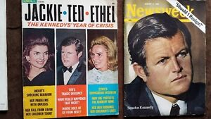 Lot#243- KENNEDY Mags 1968-69 Total of 5..Purging House Strathcona County Edmonton Area image 3