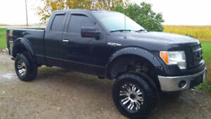 Lifted 2012 Ford F-150