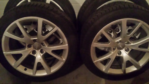 ContiWinter Contact tires/Audi Wheels