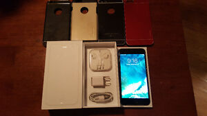iPhone 6 Plus+ 16GB, Bell, 4 cases, original box, good condition
