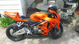 06 Honda tribal cbr 600 rr