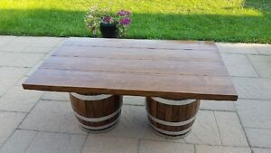 Wine Barrel Coffee Table Kitchener / Waterloo Kitchener Area image 10