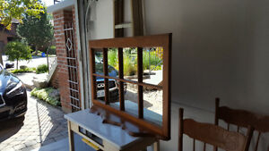 Antique Mirror, 8 panes with or without shelf Kitchener / Waterloo Kitchener Area image 3