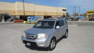 2011 Honda Pilot EX-L, AWD, 8 Pass,Leather,Sunroof,Warr availabl