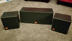 JBL Centre Speaker & 2 Rear Speakers