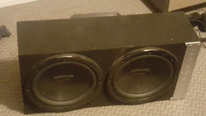 Bass works subs and amp