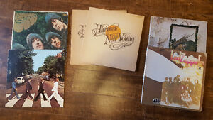 Vinyl LP's Beatles, Zepplin, Neil Young