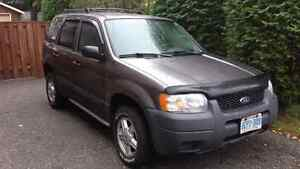 2003 Ford Escape XLS CERTIFIED $3500