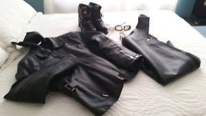 Women's Motorcycle Outfit