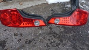 2003-2005 infiniti g35 coupe rear tail lights