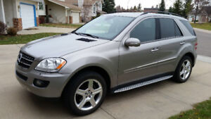 2008 Mercedes-Benz M-Class ML320 CDI SUV, Crossover