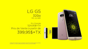 NEUF ...TELEPHONE CELLULAIRE LG ( G5 ) ..32 GO ...$