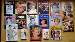 Collector Princess Diana Magazines and Books