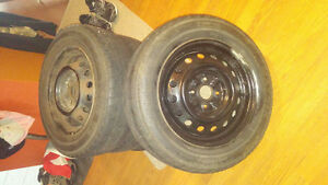 Toyota echo rims and rubber