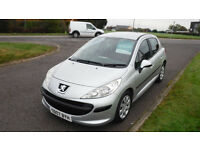 Peugeot 207 1.4 S 2007,Electric Windows,Air Con,1 Previous Owner,F.S.H