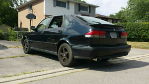 2002 saab 93 2.0t $500 FIRM AS IS