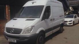 MERCEDES SPRINTER 313 CDI SWB air con, White, Manual, Diesel, 2010