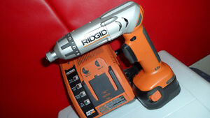 Rigid Drill Screwdriver with Charger $80 R81030.