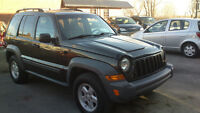 2005 Jeep Liberty eqipe Camionnette