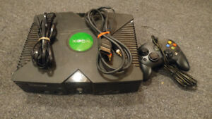 Original 1st xbox cables and controller