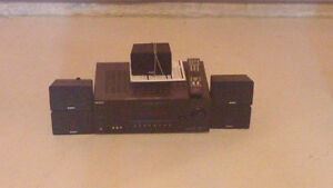 Sony Home Theatre system including speakers