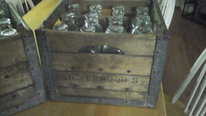 Silverwoods toronto milk crate and bottles