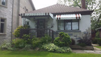 Cozy detached house for rent in Etobicoke