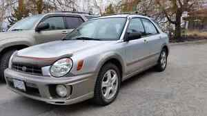 2002 subaru impreza excellent condition brand new tires