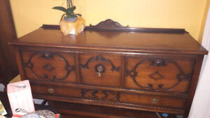 Beautiful Antique Wooden Sideboard