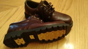 CAT Leather Brown Dress Shoe