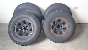 Small truck winter tires and rims