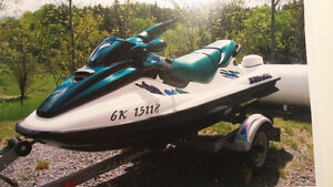 Seadoo GTX 1997 low hours 110 hours trailer and new cover