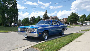1974 Blue Plymouth Duster - 14,500 obo