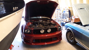 2005 mustang gt roush package
