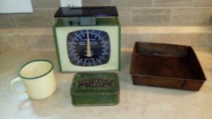 Vintage/antique kitchen items