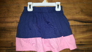 5t skirt pink and blue euc