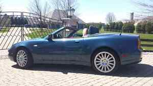 Maserati gt spider très rare 6 speed only 52874km