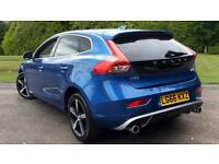 2016 Volvo V40 D4 (190) R DESIGN Nav Plus W. Manual Diesel Hatchback