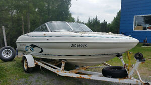 1998 Rinker 182 Speed Boat with trailer