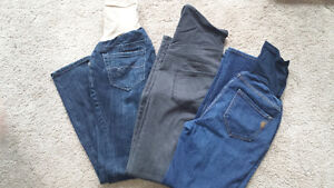 Maternity jeans and jeggings