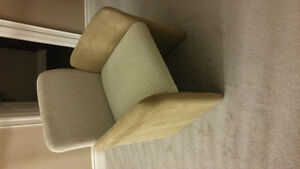 Suede Chairs For Sale Kitchener / Waterloo Kitchener Area image 1